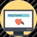 dating online, dating website, finding a partner, online dating website, virtual dating icon
