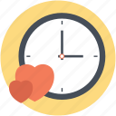 date night, date time, love time, time for love, waiting for love icon