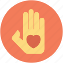 giving love, handling love, romance, romantic, showing love icon