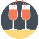 date drinks, dinner date, drinking on date, love drinks, romantic date icon