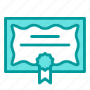 award, badge, certificate icon