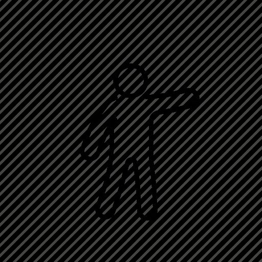 Argue, deabte, democracy, gesture, line, person icon - Download on Iconfinder