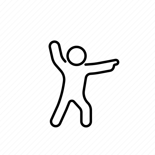 Argue, deabte, democracy, gesture, line, person icon - Download on Iconfinder