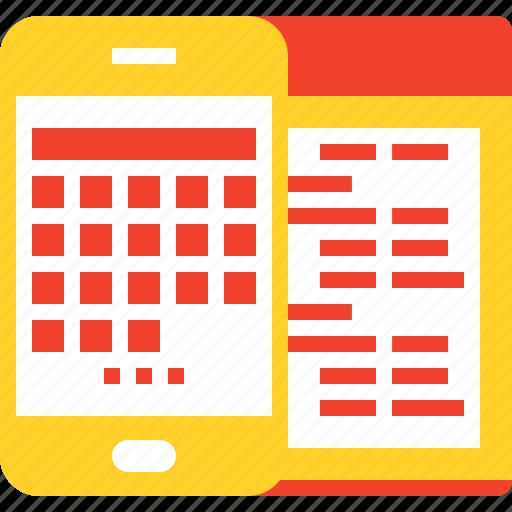 api, app, coding, development, mobile, program, software icon