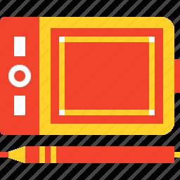 art, design, digital, drawing, graphic, tablet, wacom icon