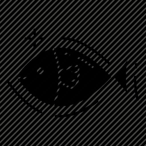 fish, food, sea, tuna icon