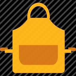 apron, chef, cook, kitchen, pocket icon