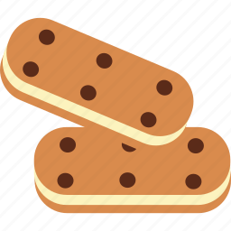 biscuit, chocolate, cookie, dessert, sweet, treat icon