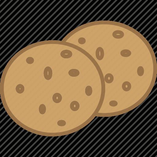 chips, chocolate, chunks, cookies, dessert, sweet, treat icon