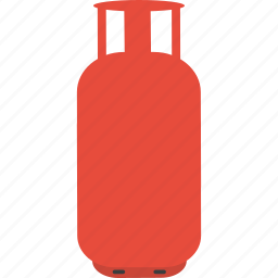 cook, cylinder, gas, kitchen, utility icon