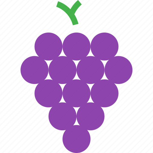 food, fruit, grapes, healthy, wine icon
