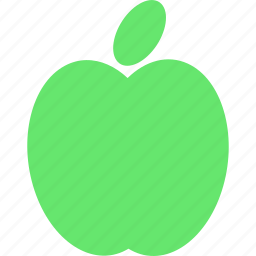 apple, food, fresh, fruit, green, healthy icon