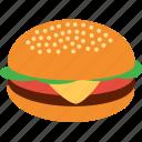 beef, burger, chicken, fast, food, hamburger, junk