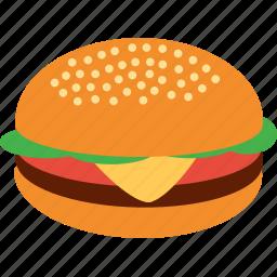 beef, burger, chicken, fast, food, hamburger, junk icon