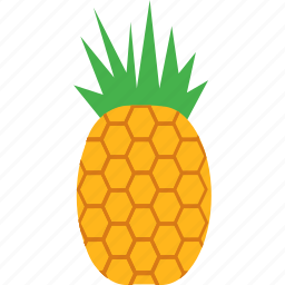 food, fresh, fruit, healthy, pineapple icon