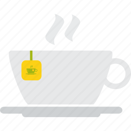 beverage, cup, drink, hot, saucer, tea icon