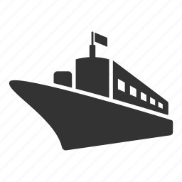 boat, delivery, sea, ship, shipping, travel, vehicle icon