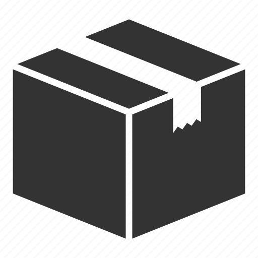 box, carton, delivery, logistics, package, shipping icon