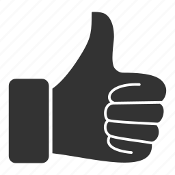 approved, favorite, good, hand, like, thumbs, vote icon