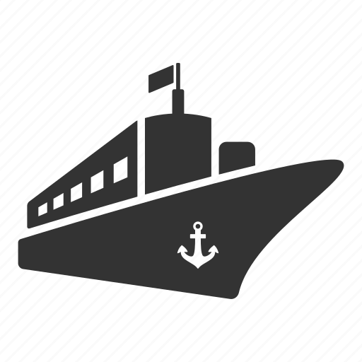 boat, delivery, logistics, sea, shipping, travel, vehicle icon