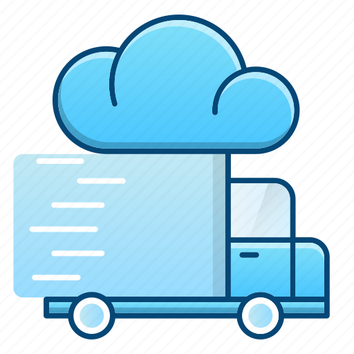 delivery, fast, logistics, speed, transportation, truck icon