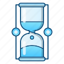 hourglass, logistics, processing, time icon