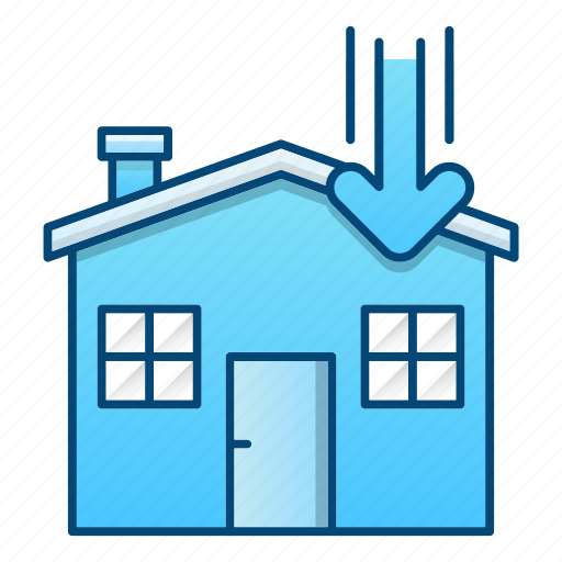 delivery, house, logistics, order, processing icon