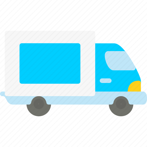 car, delivery, service, van icon