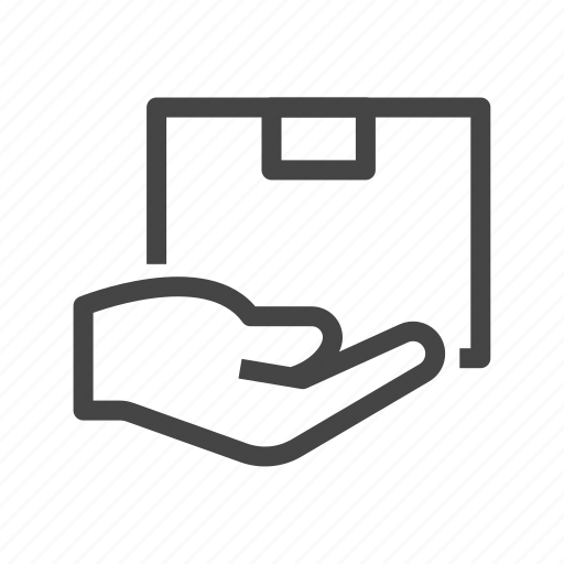 box, car, delivery, package, shipping, transport, vehicle icon