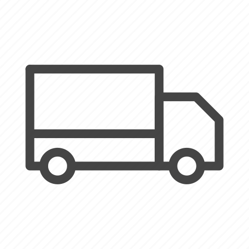 box, car, delivery, shipping, transport, truck, vehicle icon