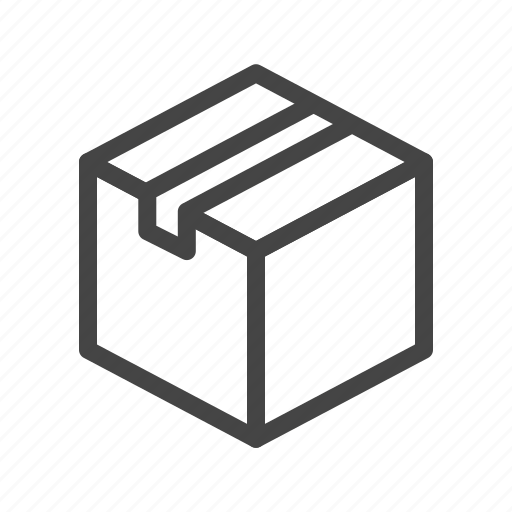 box, delivery, logistics, package, shipping, shopping, transport icon