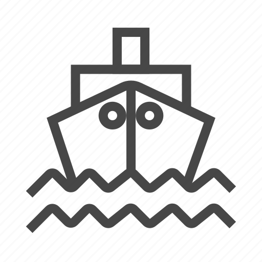 cargo, delivery, ocean, sea, ship, shipping, transport icon