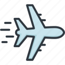 airplane, business, delivery, logistic, service, shipping, transport icon