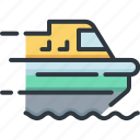 business, delivery, logistic, service, ship, shipping, transport icon