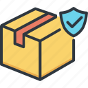 business, delivery, logistic, protection, safety, service, shipping icon