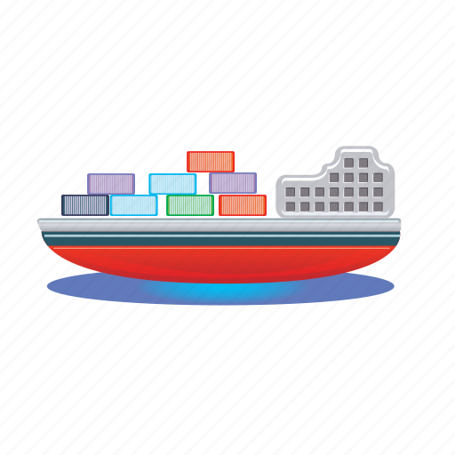 cargo, container, ship, shipping, transport icon