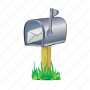 box, mail, delivery, letter, message