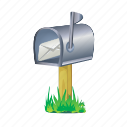 box, delivery, letter, mail, message icon