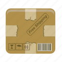 box, shipping icon
