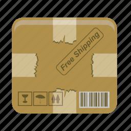 box, shipping icon