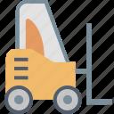 delivery, forklift, loader, stacker, transport, transportation, truck