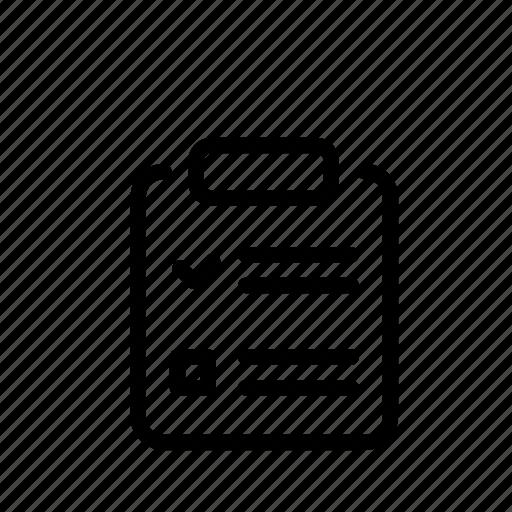 checklist, delivery, documents, list, todo icon