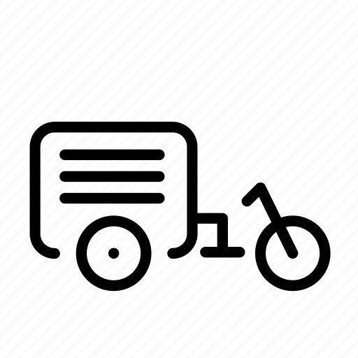 bike, delivery, delivery bike, express, shipping icon