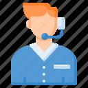 customer care, customer service, customer support, helpline, operator icon
