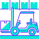 fork, forklift, management, truck, warehouse