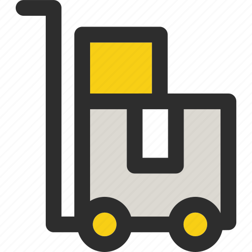 box, cart, delivery, ecommerce, shipping, shopping, transport icon