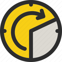 clock, delivery, schedule, time, timer, transport, transportation icon