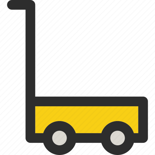 buy, cart, empty, online, shipping, shopping, transport icon