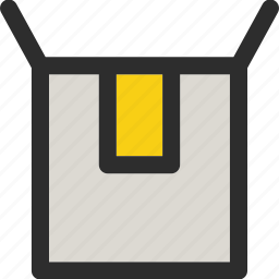 box, buy, delivery, open, package, shop, shopping icon