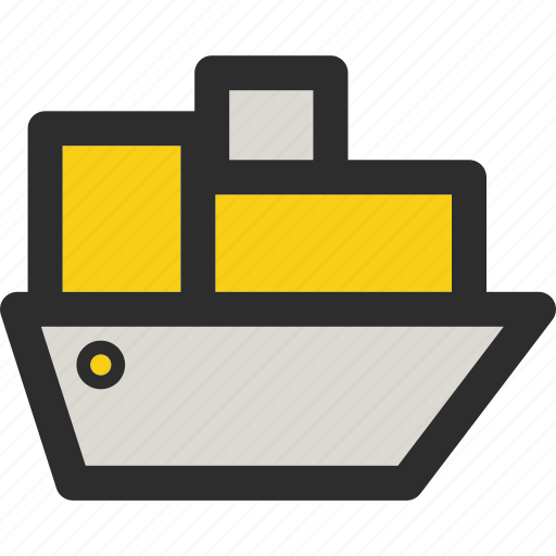 delivery, package, ship, shipping, shop, shopping, transport icon